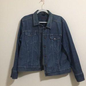 Eddie Bauer // Specialty Dyed Jean Jacket